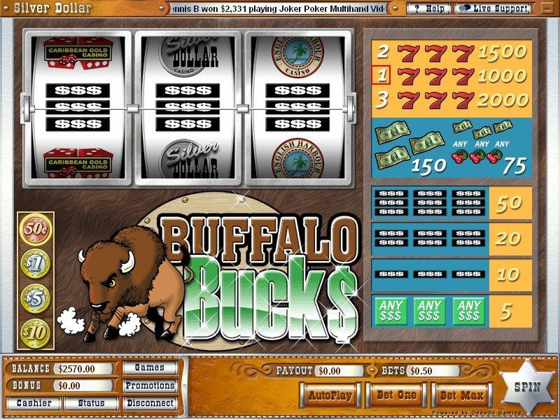 Buffalo Bucks Slot
