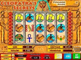 Cleopatra's Secrets Slot - Photo