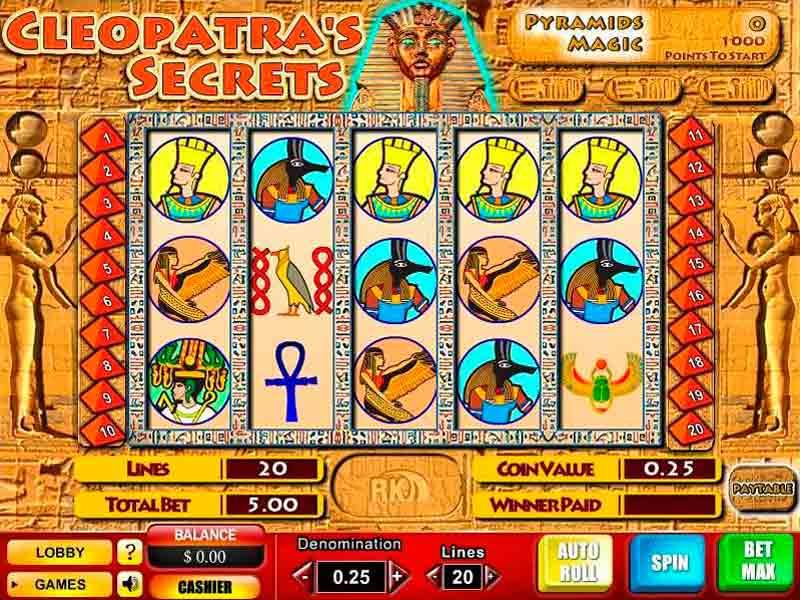 Cleopatra's Secrets Slot