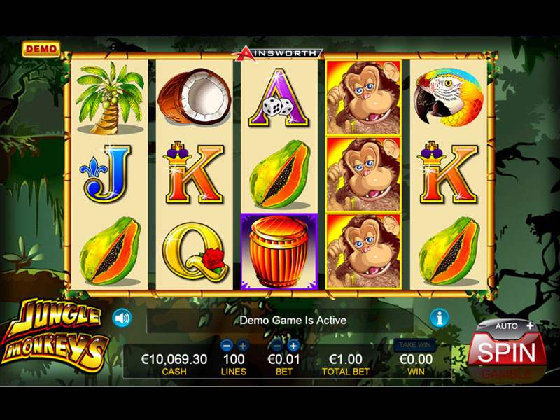 Jungle Monkeys Slot