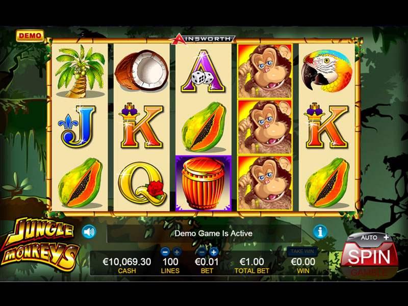 Jungle Monkeys Slot