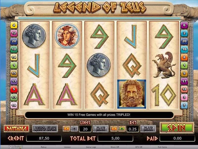 Legend of Zeus Slot