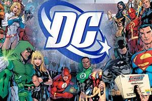 Dc Comics Slots logo