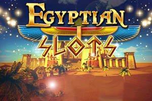 Egyptian Slots logo