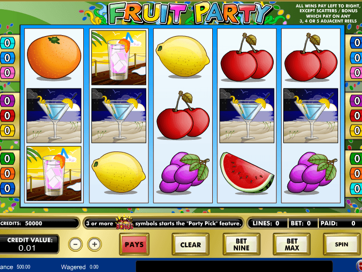 Fruit Party Slot Online Photo