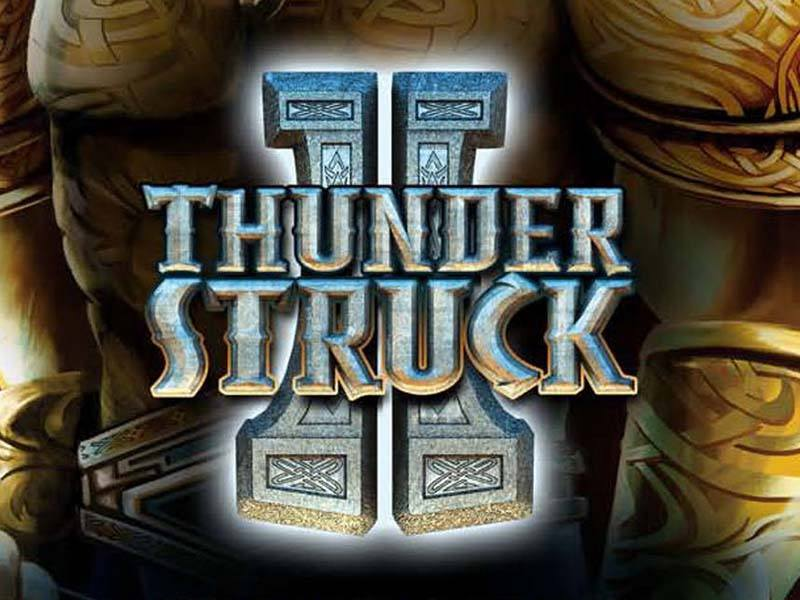 Thunderstruck-II slot game logo