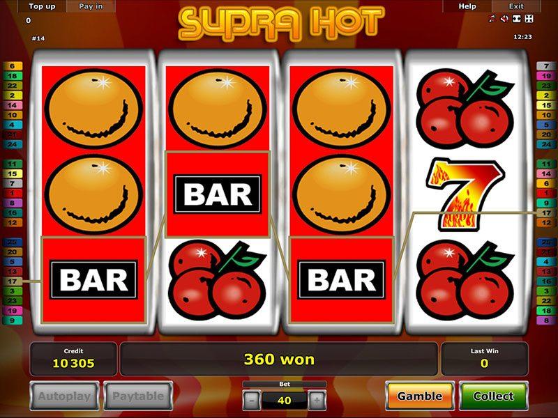 Supra Hot Casino Game