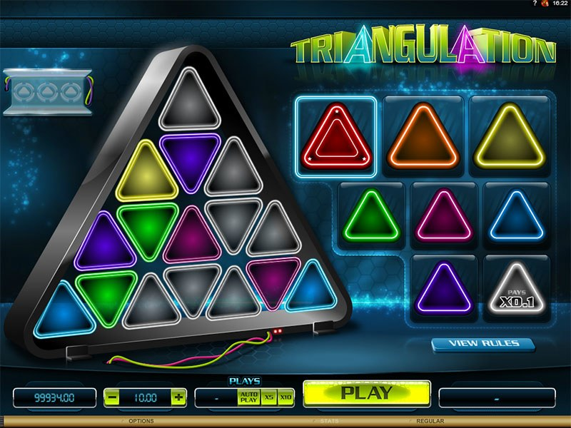Triangulation Slot