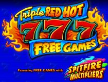 Triple Red Hot 777 Slot - Photo