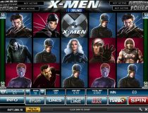 X-Men 50 Lines Slot - Photo